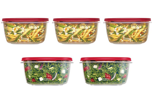 Rubbermaid 10-Pc. Easy Find Lids Food Storage Containers