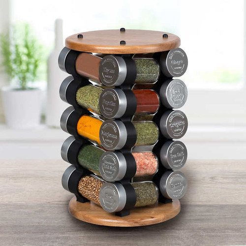 Olde Thompson 20 Jar Spice Rack (1119589)