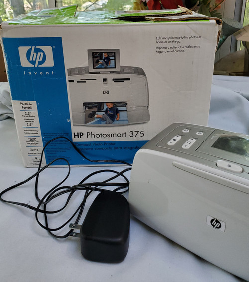 HP PhotoSmart 375 Compact Photo Printer (Q3419A)