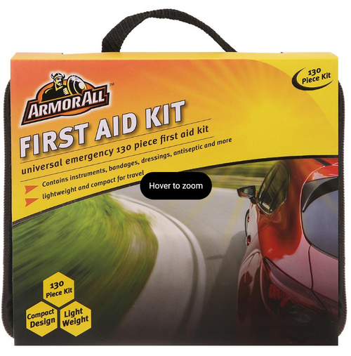 Armor All 130-Pc. First Aid Kit ( AA-EM105R )