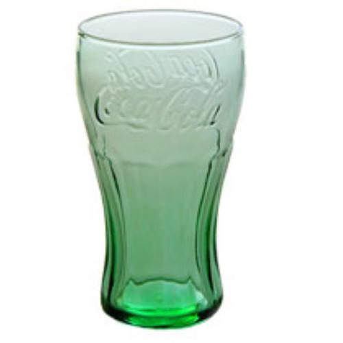 Genuine Coca-Cola Contour Glasses, 6 oz  Case Lot