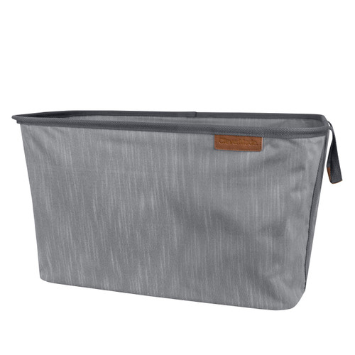 CleverMade Collapsible Fabric Laundry Basket LUXE - Foldable Pop Up Storage (814986023317)