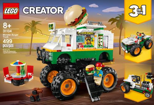 LEGO - Creator 3-in-1 Monster Burger Truck 31104 (6288730)