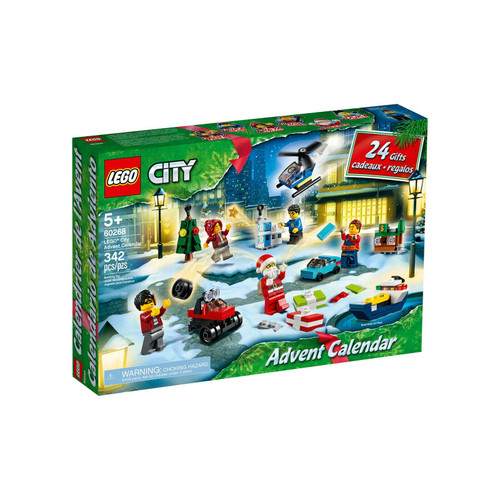 LEGO® City Advent Calendar 2020 Building Set 602Ths a LEGO® City Advent Calendar (31868)