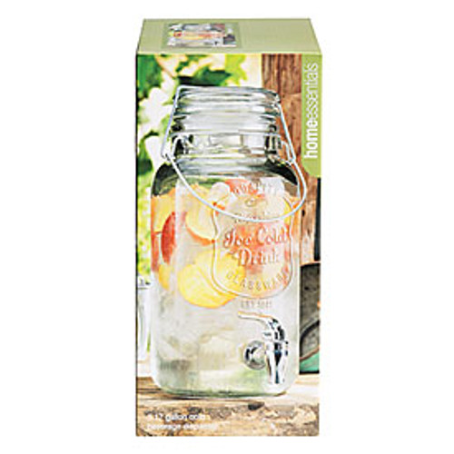 Glass Jug Beverage Dispenser