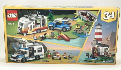 LEGO Creator 3in1 CARAVAN FAMILY HOLIDAY Outdoor Adventure Vacation Set #31108 (673419317818)