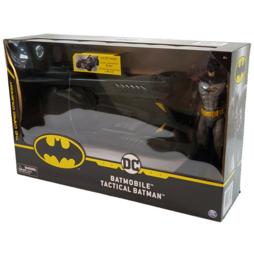"""Batmobile Tactical Batman The Caped Crusader, Creature Chaos Fits 12"""" Figure (778988363454)"""
