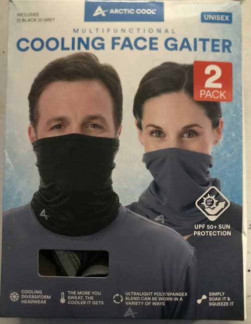 Arctic Cool MultiFunctional Cooling Face Gaiter 2 Pack (1454138)