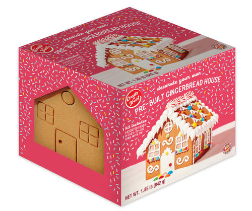 Pre-Built Gingerbread House Cookie Kit, 29.6 Oz.
