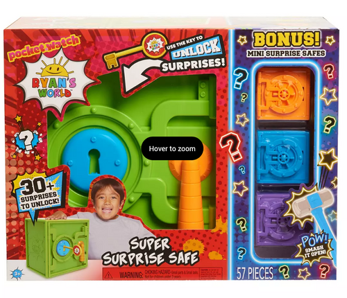 Ryan's World Super Surprise Safe Bundle (78680 )