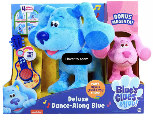 Blue's Clues & You! Deluxe Dancing Blue & Magenta (49710 )