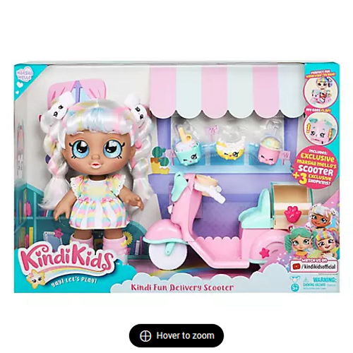 Kindi Kids Kindi Fun Delivery Scooter with Marsha Mello Doll (50107 )
