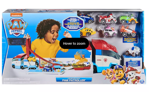 PAW Patrol Launch'N Haul PAW Patroller 2-in-1 Track Set with Die-Cast Vehicles