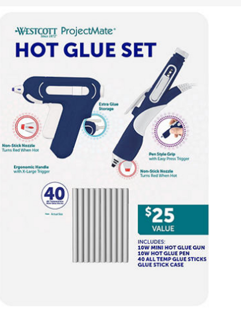 Wescott Hot Glue Set (980260700)