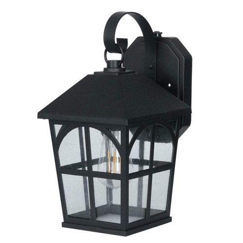 Honeywell, 800 Lumen Outdoor Wall Coach Lantern Dusk-to-Dawn LED Filament Bulb (884617738842)