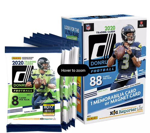 2020 Panini Donruss Football Blaster Box (2-95680-20)