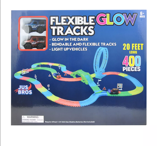 Flexible Neon Glow Track Set with Loop 400 pc