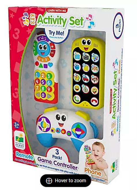 Learn With Me On The Go Activity Set (9176880018 )