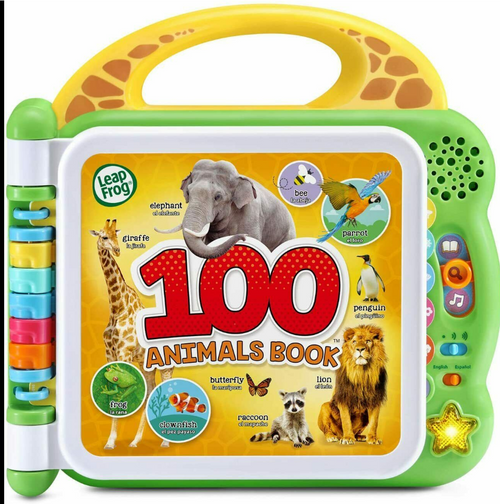 LeapFrog 100 Animals Book (80-609540)