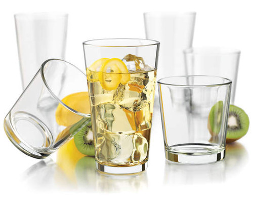 Libbey Flare 16-Piece Glassware Set (20019024)