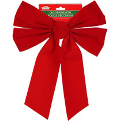 Large Red Velvety Bows (259826)
