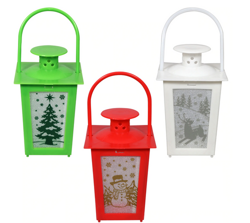 Christmas Flicker Lanterns, Mix n' Match (318206)