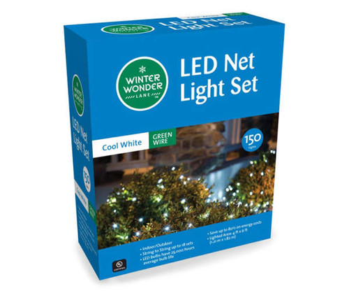 Holiday LED Net Lights 150 lights (46 150)