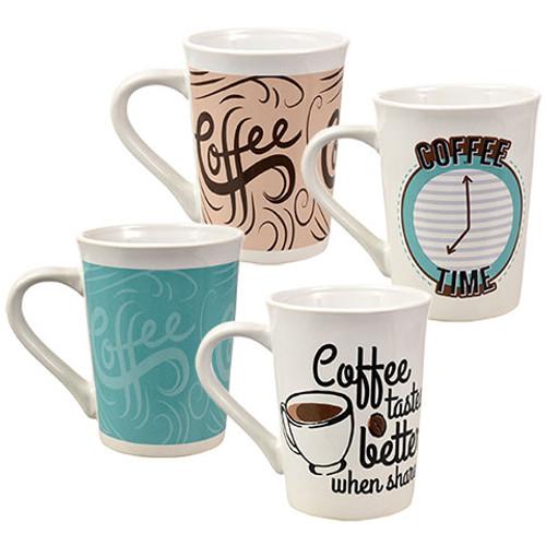 Modern Ceramic Mugs, 15 oz. Buy the Dozen Deal (111179 )