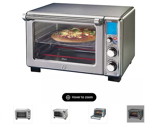 Oster Large Digital Countertop Oven - Brushed Stainless Steel (2101713 )
