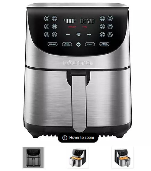 Gourmia 7-Qt. Stainless Steel Digital Air Fryer (GAF778 )