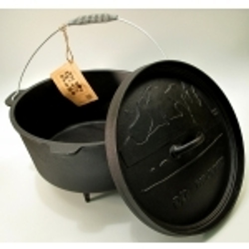 Old Mountain Cast Iron Preseasoned Dutch Oven or Casserole Your Choice (0166-10111)