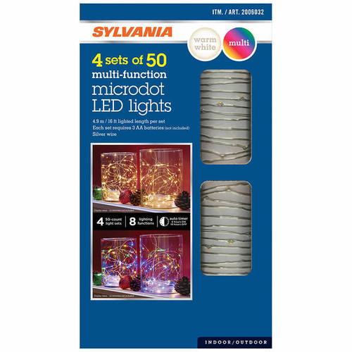 Sylvania Dual Color Micro Lights (1471263)