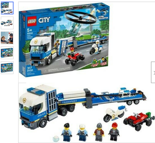 LEGO® City - Helicopter Transport 60244 (60244)