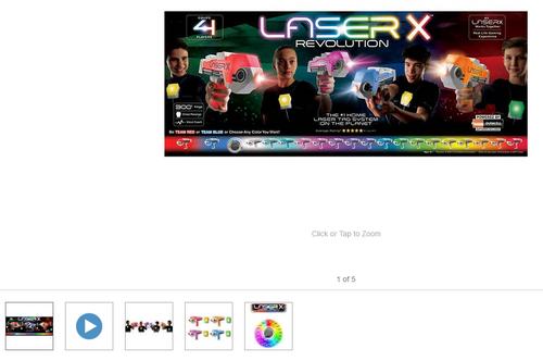 Laser X Blaster, 4-player Set (042409880487)