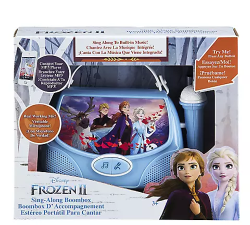 KIDdesigns Sing-Along Boombox - Frozen 2 (KCD-V111.18BJA0)