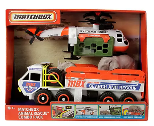 Matchbox Animal Rescue Vehicles Combo Pack ( GXY79 )