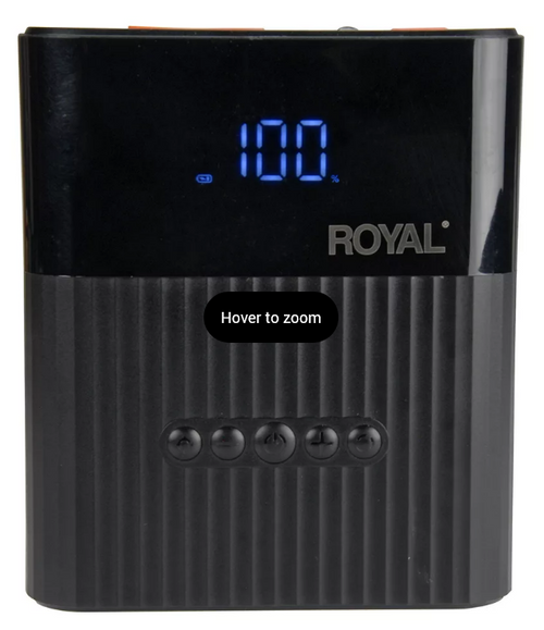 Royal Emergency Jump Starter with Air Compressor ( 13009T )
