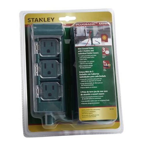 Stanley® 3-Outlet Grounded Yard Stake ( 31775052 )