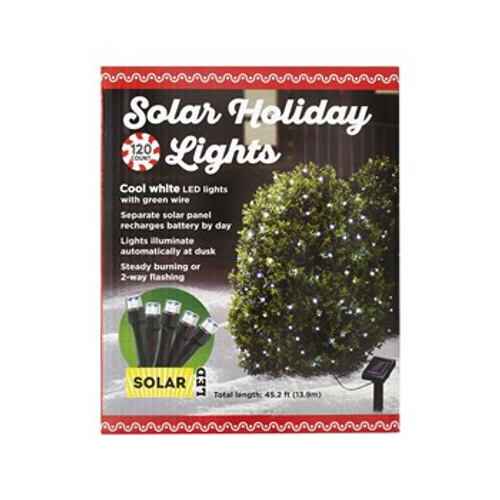 Solar LED Holiday Lights 120 ct (32255461)