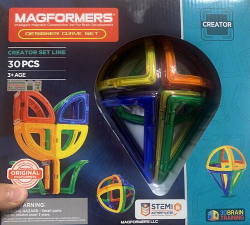 MAGFORMERS DESIGNER Curve Set 30 Pcs (63121)
