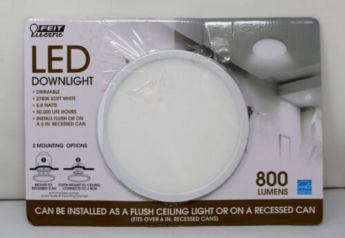 Feit Electric LED Downlight Flush Ceiling Light Or Recessed (017801477740)