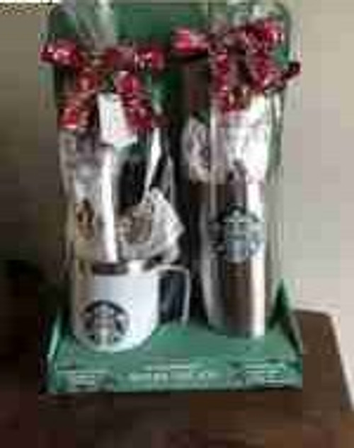 Starbucks Holiday Gift Set Stainless Steel 1 Mug And 1 Tumbler With Lid (98009673257)