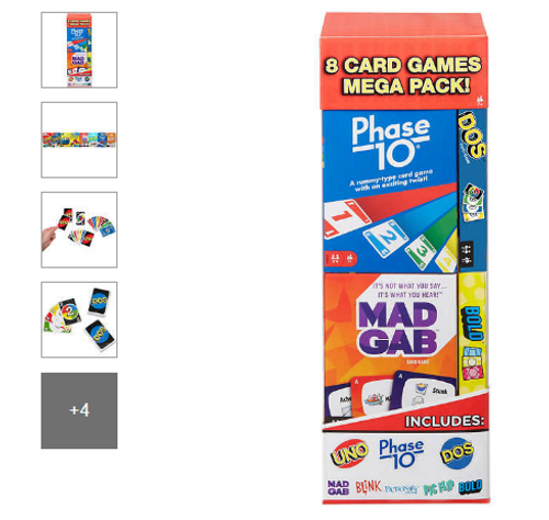 Mattel Mega Card Game, 8-pack 3261904