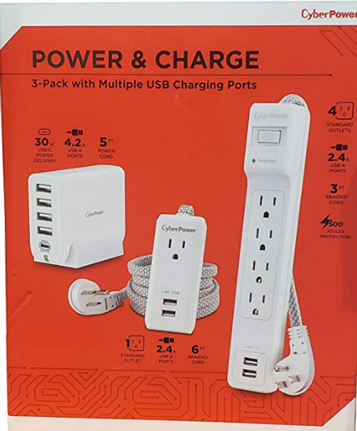 Cyberpower Power & Surge Bundle (MP1020SEC)