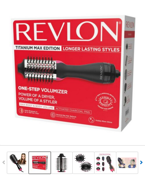 Revlon Titanium Max Edition One-Step Volumizer Max Root & Body Volume (RVDR5282CT)