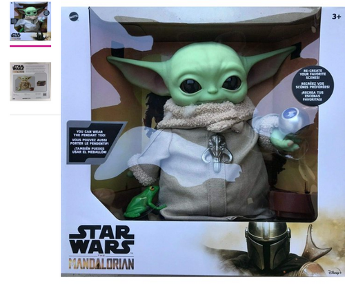 """Star Wars The Child Baby Yoda The Mandalorian with 4 Accessories 12"""" Tall ( 887961952124)"""