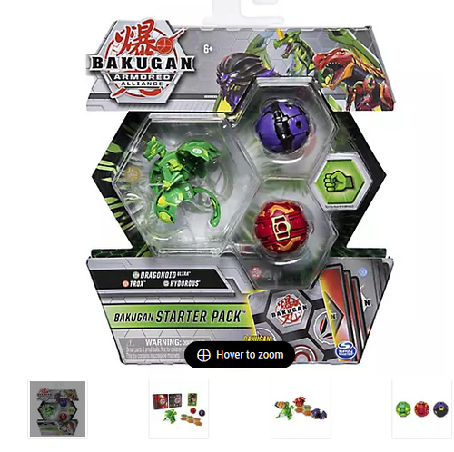 Bakugan Armored Alliance Starter Park, 3 pk. - Dragonoid Ultra (6060242