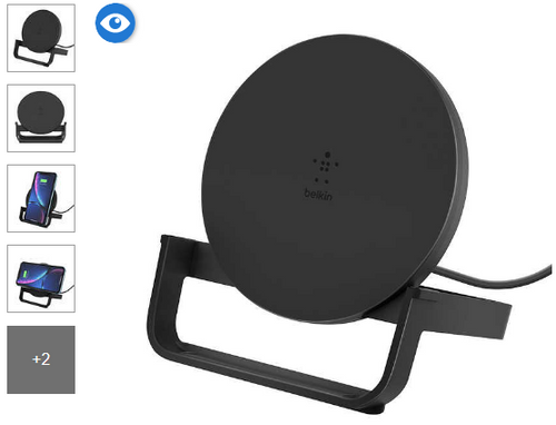 Belkin 10W Wireless Charging Pad (BU001TTBLK-CC)