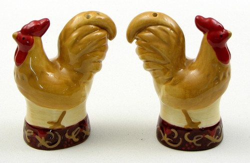 Rooster Salt/Pepper Set (049-22456)