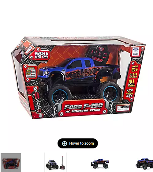 Ford Raptor F150 1:14 Scale RC Truck (813023021828) (